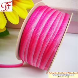 Herstellung OEM Farbe Gewebten Regenbogen Taft Ribbon für Geschenk / Verpackung / Verpackung / Bogen / Weihnachten / Bekleidungszubehör