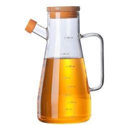 Botella de aceite doméstico tarro de vidrio para botella de aceite de oliva salsa de soja botella Botella de vidrio de cocina