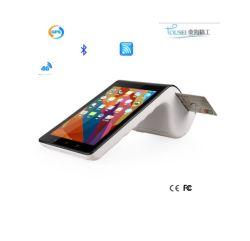 WiFi 4G verdoppeln Bildschirm-Minicodierte Karte und 58mm Bluetooth der Thermodrucker alle im androiden Positions-Terminal PT7003