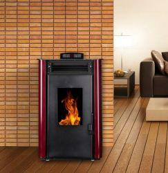 小型小さいポータブル5kwは永続的な木製の非常に熱い暖炉の鋳鉄のストーブを放す