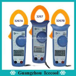 جهاز قياس شدة التيار الرقمي تلقائي النطاق Vc3267A من جهاز اختبار درجة الحرارة الاحترافية AC/DC