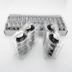 الجملة 100 أزواج / حزمة 3D ينقص لا يعبّئ صندوق مخصص رماد المكياج