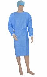 A FDA Marcação médicos descartáveis vestido cirúrgica vestido de isolamento de camada de vestuário