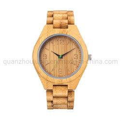 ساعة كوارتز من إنتاج شركة OEM للبيع الساخن من الخشب القابل للتخصيص البيئة