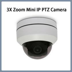 La sécurité 1080P Antivandale Zoom 3x Mini caméra PTZ IP