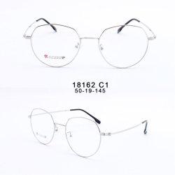 Печатный материал большого размера моды круглая форма Vintage оптические рамы очков