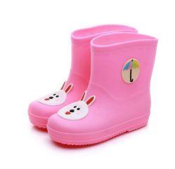 Venta caliente barato botas de lluvia de plástico para niños