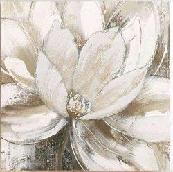 Gran arte de pared flores pintadas a mano de pintura de aceite de moderna decoración contemporánea, obra de arte (30 X 40 pulgadas) GF-P19052784