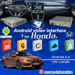 Interfaz de navegación para Right-Drive Andorid Honda Fit Ciudad / / / Odyssey de la VFC