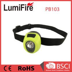 Un grado brevettato Ipx7 dei due LED impermeabilizza il mini faro dei bambini
