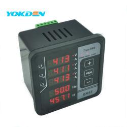 Medidor de frecuencia de Panel Digital multifunción GV57 para grupo electrógeno