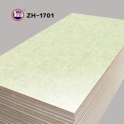 食器棚のドア(ZH-1701)のための大理石カラー高く光沢のある紫外線MDF