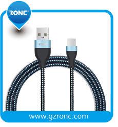 5V 2A de Snelle het Laden Massa van de Kabel van het Type C USB van Gegevens