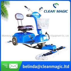 Den magischen Fußboden-Kehrmaschine-Roller der Qualitäts-säubern DJ500, der Staub-Karren-elektrisches industrielles wischt