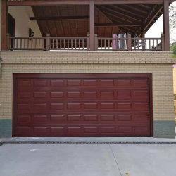ローラーの圧延シャッター模造Copper&の電気自動木製の穀物すべてのアルミ合金の部門別のガレージのドア