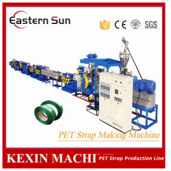 Plastica PP PET Packing Band Strap Extruder Machine Production Line