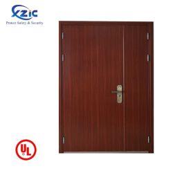 Fabricante chinês por grosso de madeira branca de abertura interior à prova de corta-fogo da porta para hotéis