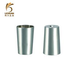 Mobiliário de liga de zinco cadeira de mesa cromado Pé Cup