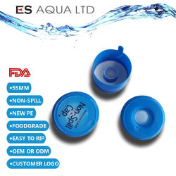 أغطية لدورق الماء البلاستيكية طراز PE سعة 18.9 لتر بقوة 20 لترًا وسعة 20 لترًا وسعة 20 لترًا