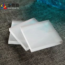 Chuveiro Decorativos Huashuaite usa Gravura Polaco não é mau cheiro 1-300mm de espessura da chapa de acrílico fosco