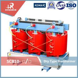 35kv classe 10~2500kVA résine moulé de la distribution de type sec transformateur de puissance