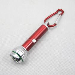 2 Funktions-Laser u. LED Keychain mit Carabiner Klipp (T2114)