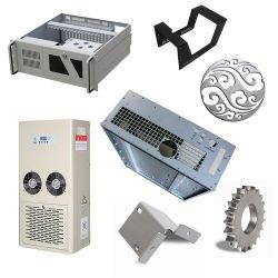 Corte a Laser personalizada de estamparia de metal do compartimento de suporte de aço inoxidável Fabricação de chapas metálicas