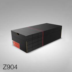Z904 Commerce de gros emballages papier luxe boîte à chaussures personnalisées