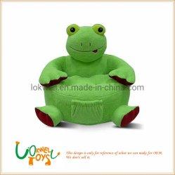 Presidenza del sofà della rana del fumetto del giocattolo della peluche dell'animale farcito