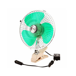 12V Mini Elektrische Ventilator 360 van de auto de Roterende Sterke Ventilator Met geringe geluidssterkte van de Luchtkoeling van de Airconditioner van de Ventilator van de Wind Draagbare Auto