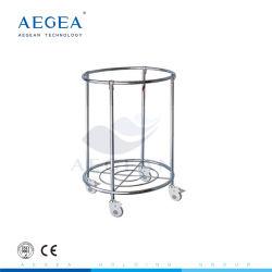Ce, ISO Approved AG-Ss081 Column Trolley Supply Company Medico per i vestiti sporchi