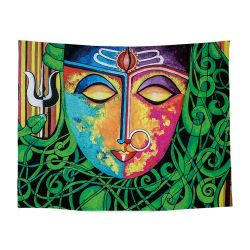 L'art abstrait Image colorée tapisserie murale