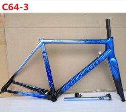 Новейшие C64 углерода рамы дорожного движения в полной мере T1100 углерода велосипед Frameset установите Di2/Mechanica как, 7 цветов доступно углерода рамы велосипедов 2019