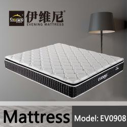 Materasso all'ingrosso del lattice della mobilia della camera da letto con il disegno della parte superiore del cuscino per l'hotel