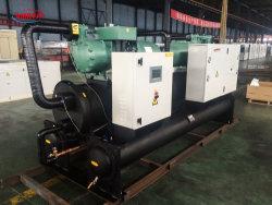 50tonne R407c Bitzer/Hanbell compresseur à vis refroidi par eau chiller & Pompe à chaleur/Siemens automate de contrôle d'eau industrielle/réfrigération refroidissement chiller Chiler