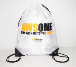 حقائب البوليستر الترويجية أرخص حقيبة ظهر حقيبة أحذية ركوب الدراجات