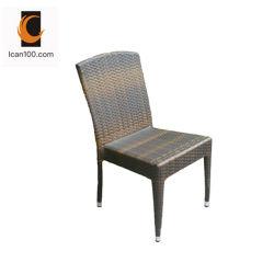 屋外の椅子の総合的な藤のレストランの家具を編むための水証拠のCostcoのプラスチック