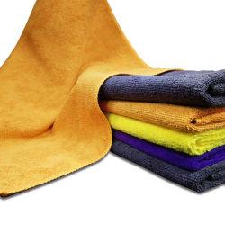 卸し売り安いタオルさまざまなカラー綿ポリエステルホテル手タオル