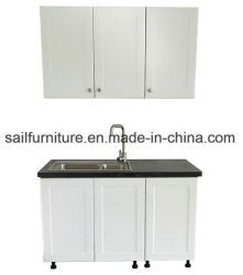 Modernes geschmälertes hölzernes Küche-Schrank-Set