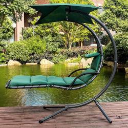 Сад Swing висящих мечта стул шезлонге шезлонгами Arc стенд крыльцом воздуха поверните гамак кресло