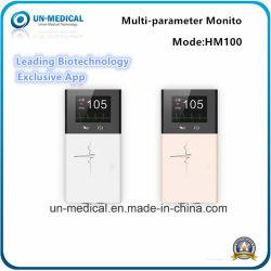 Портативное устройство измерения SpO2/модуля ETCO2/2.4inch монитора пациента для ЭКГ для неотложной медицинской помощи