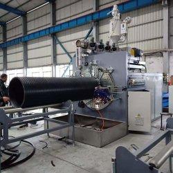 Ligne de production de plastique/machines/extrudeuse/Machine pour le PEHD à large diamètre tuyau spirale mur creux de bobinage