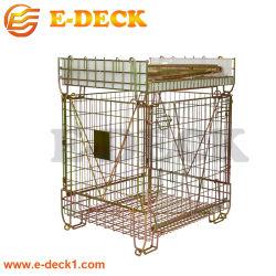 Heavy Duty de preformas de PET plegables de la jaula de malla de alambre