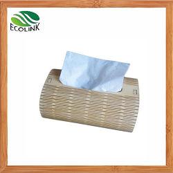 Caixa Quadrada de Bambu /Box Guardanapo Titular do Suporte do organizador