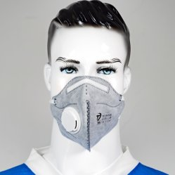 NIOSH 認定済みのマトリテ N95 コーン粒子呼吸器マスク、 M/L サイズ N95