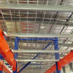 Malla de alambre soldada de acero galvanizado techado para bandeja de almacenamiento