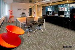 Bureau d'affaires d'exposition utilisé des carreaux de tapis fabriqués en Chine en nylon PVC Tapis d'appui de la surface de l'Alaska