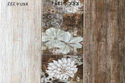 Banheira de venda de textura de Madeira procure glacê de molde 3 em 1 casa de banho em cerâmica cozinha equipada sala de estar lado a lado na parede do quarto 250*500mm VENDA RBK4338A