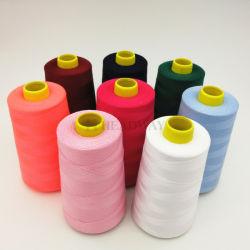 40s/2/3 100%-ных дочерних обществ полиэфирных нитей в специализированные окрашивания цветов 100% полиэстер швейных нить с Tfo качества