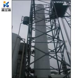 Planta de reciclaje de aceite de motor usado Diesel de residuos de aceite para máquina de destilación de aceites de base de la refinería